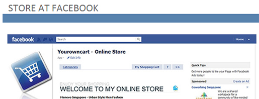 Store at facebook
